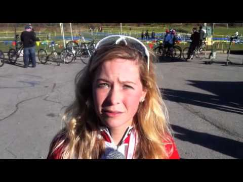 2011 Cross Nationals - Emily Batty Interview - Women's Champion!