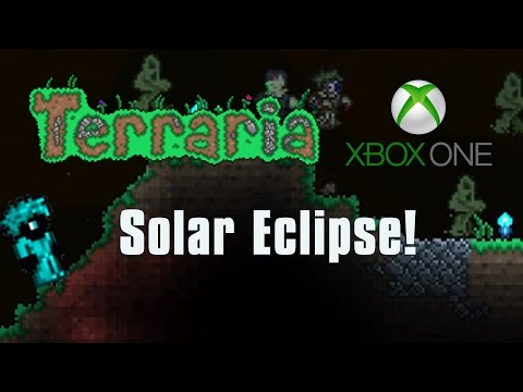 Terraria Xbox One Let's Play -  SOLAR ECLIPSE EPIC LOOT FARMING