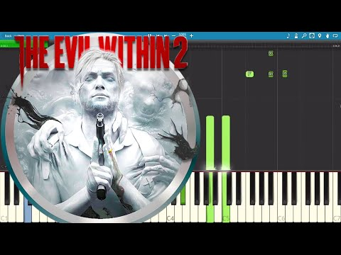 The Evil Within 2 Song by JT Music - Don't Wake Me Up - Piano Tutorial / Cover