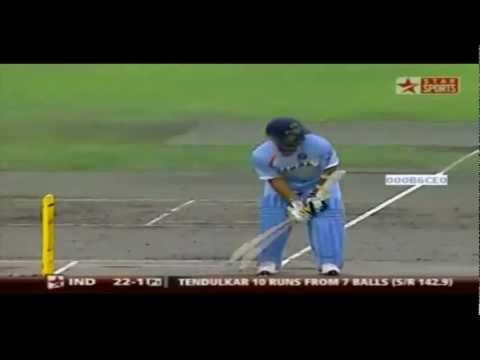 Sachin Tendulkar vs Brett Lee