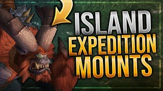Island Expedition Mounts | Ingame Preview | Battle for Azeroth!