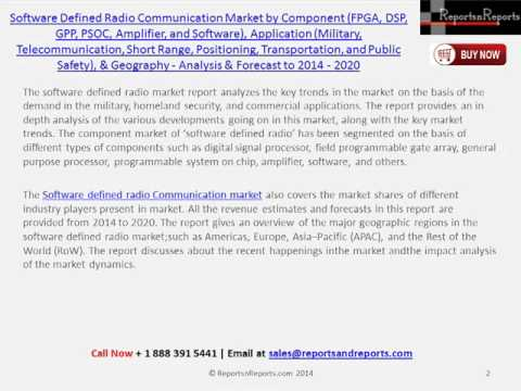 Software Defined Radio Communication Market Analysis & Forecast by 2020