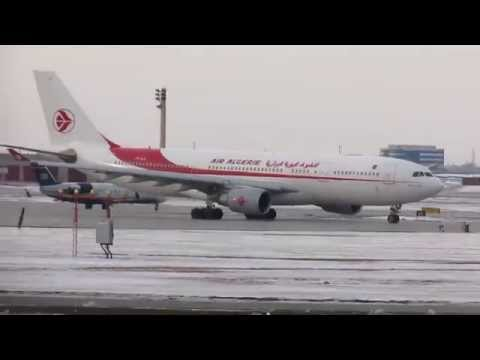 Air Algerie A330-202 (A332) departing YUL on 06R