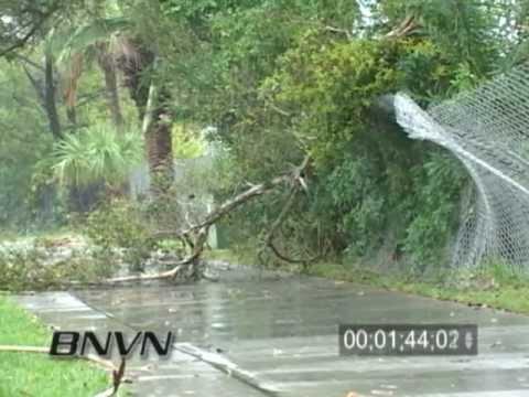 12/25/2006 Sarasota, FL Christmas Day Storm Video
