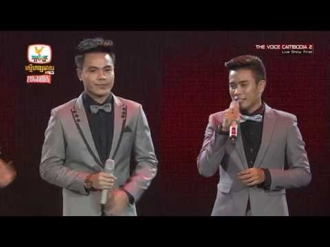 The Voice Cambodia - Key Sokhon vs Chhorn Sovannareach - Right Here Waiting - Live Show Final 19 Jun