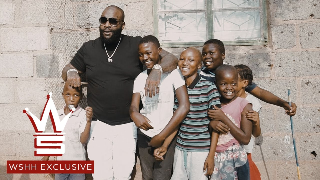 Rick Ross Visits Botswana (Southern Africa) & Hands Out Money Along The Way!