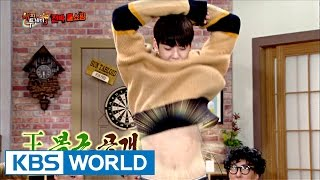 Perfect face, ChaEunwoo's girlgroup dance skill [Happy Together / 2016.10.20]