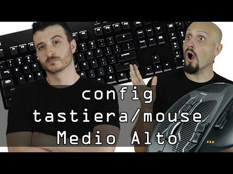 Config Medio/Alta: Tastiera G610 e Mouse G700s Logitech