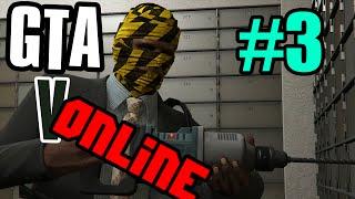 GTA 5 online #3 - Как взломать сейф