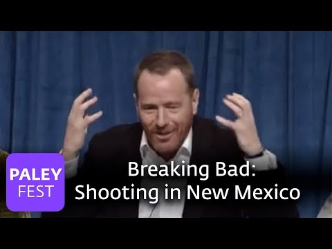 Breaking Bad - Cranston on shooting in New Mexico (Paley Interview)