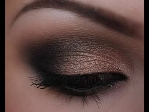 dramatic smokey eye makeup tutorial cassandra bankson