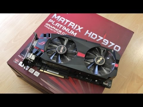 EXCLUSIVE FIRST LOOK: ASUS MATRIX HD 7970 PLATINUM ROG VIDEO CARD!
