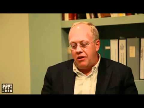 OWS: Chris Hedges articulates the fundamental message of the Occupy movement...