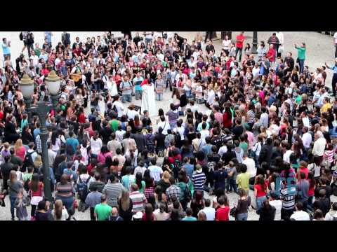 JMJ Rio 2013 Flash MOB Bote F Curitiba (Oficial)