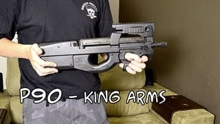 Review - P90 - king Arms - Airsoft Brasil