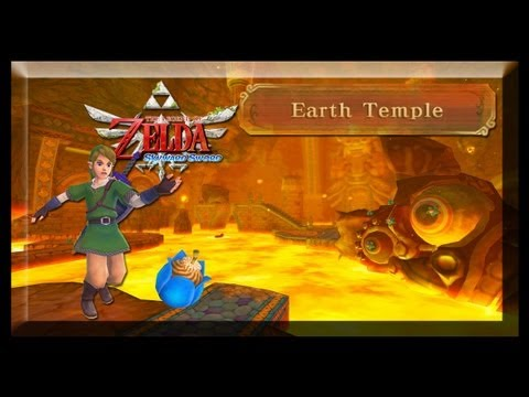 Legend Of Zelda Skyward Sword #9 Temple of Earth / Templo da Terra