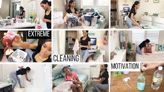 ACTUALLY DIRTY EXTREME CLEANING MOTIVATION // REALISTIC CLEANING ROUTINE // SAHM OF 3