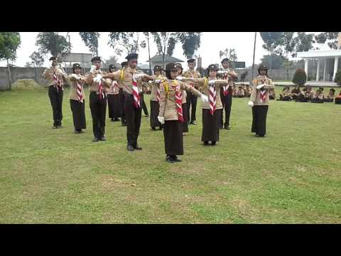 Tari Komando Penegak SMK Wira Karya Mandiri Deli Serdang