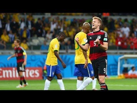 Andre Schurrle Goal - Brazil vs Germany 1-7 HD (World Cup 2014)