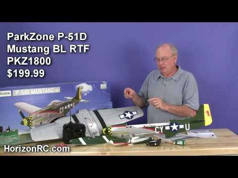 HorizonRC.com Review -  ParkZone® P-51D BL