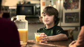 Florida Orange Juice Commercial with Jake Short