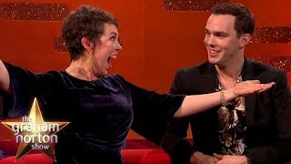 Olivia Colman's Incredible Lion Impression | The Graham Norton Show