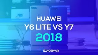 Huawei Y6 vs Y7 2018 - comparativa en Español