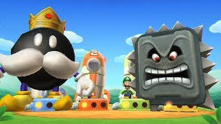 Mario Party 9 - Minigames (King Bob-omb Gameplay)