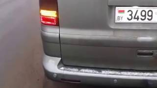 VW T5 MULTIVAN. FULL LED! Задние фонари