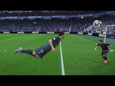 FIFA 16 Van Persie Style Header Tutorial