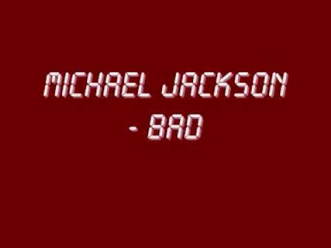 Michael Jackson - Bad (with Lyrics + Hq Sound) video