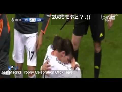 Real Madrid Vs Atletico de Madrid - Final Champions League - 24-05-2014-Homenaje a ambos equipos.