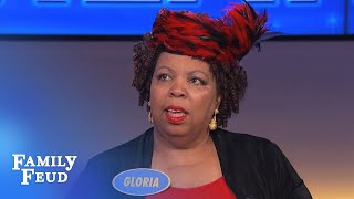 She DESTROYS Steve Harvey with her answer! | Family Feud