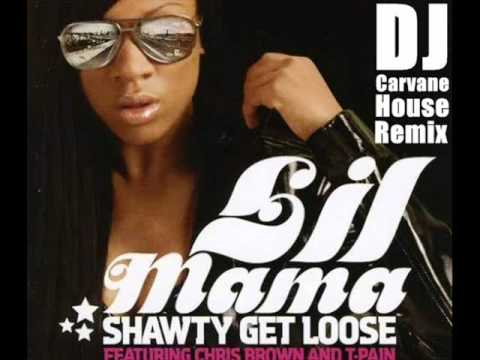 Lil Mama Ft. Chris Brown & T-pain - Shawty Get Loose (dj Carvane Houseremix) [r&d] video