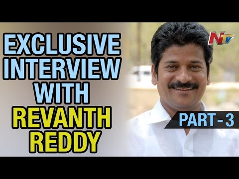 NTV Exclusive Interview with Anumula Revanth Reddy - Point Blank Part 3