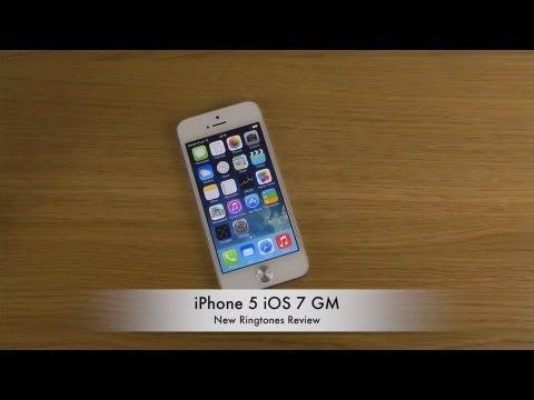 iPhone 5 iOS 7 GM - New Ringtones Review