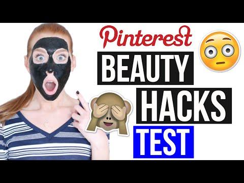 5 PINTEREST BEAUTY HACKS GETESTET: Nie wieder Mitesser- Maske!   LaurenCocoXO