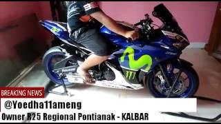 Suara knalpot AKRAPOVIC R25 Moto GP