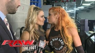 Becky Lynch will always have Natalya's back: Raw Fallout, May 30, 2016