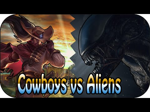 Cowboys Vs Aliens - 5v5 Themen Battle video