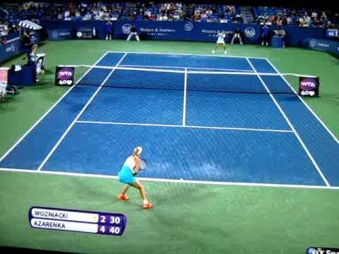 Great point from Victoria Azarenka & Caroline Wozniacki in Cincinnati