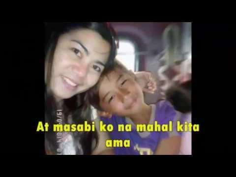 Dance W My Father, Tagalog Version Aking Ama (karaoke)re-edited video