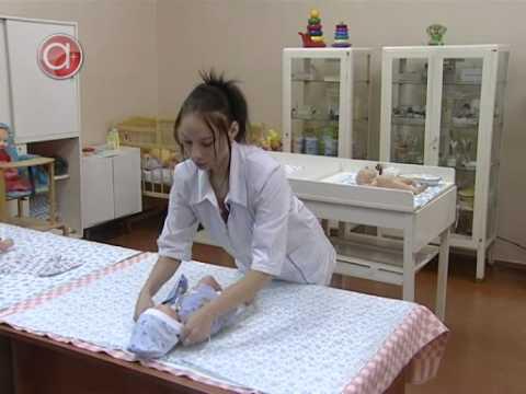 Видео как правильно пеленать ребенка