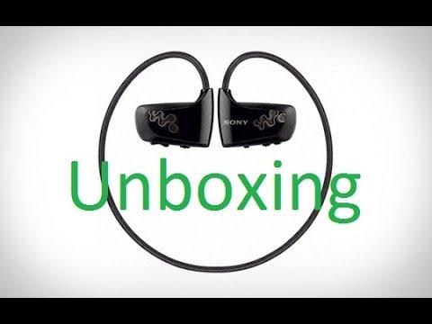 SONY Walkman NWZ W262 Unboxing