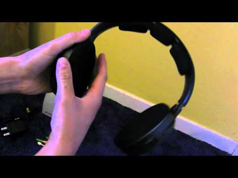 Unboxing of SENNHEISER RS 120 Wireless Headphones