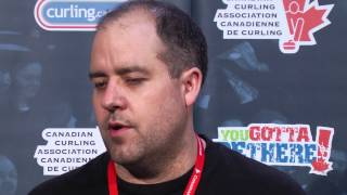 Draw 5 Media Scrum - 2013 Tim Hortons Brier