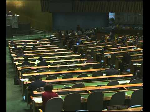 MaximsNewsNetwork: SUDAN & INTERNATIONAL CRIMINAL COURT - U.N. GENERAL ASSEMBLY (UNTV)