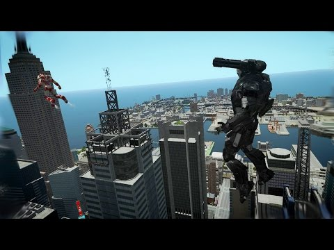 Grand Theft Auto IV - Iron Man [MOD] for #GTAIV