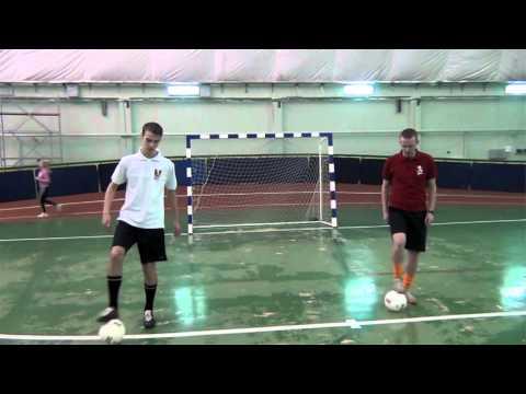 Уроки мини-футбола - видео
