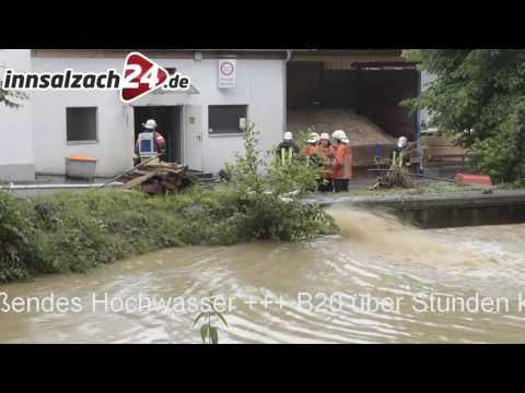 Hochwasser: Katastrophenalarm im Landkreis Rottal-Inn
